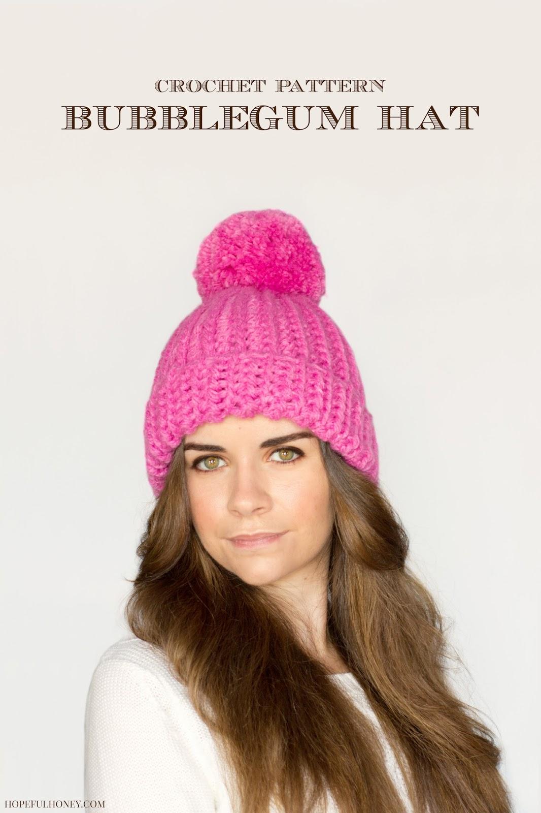 Classic Bubblegum Pompom Hat 2