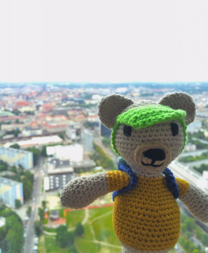 Maurycy i widok ze Sky Tower