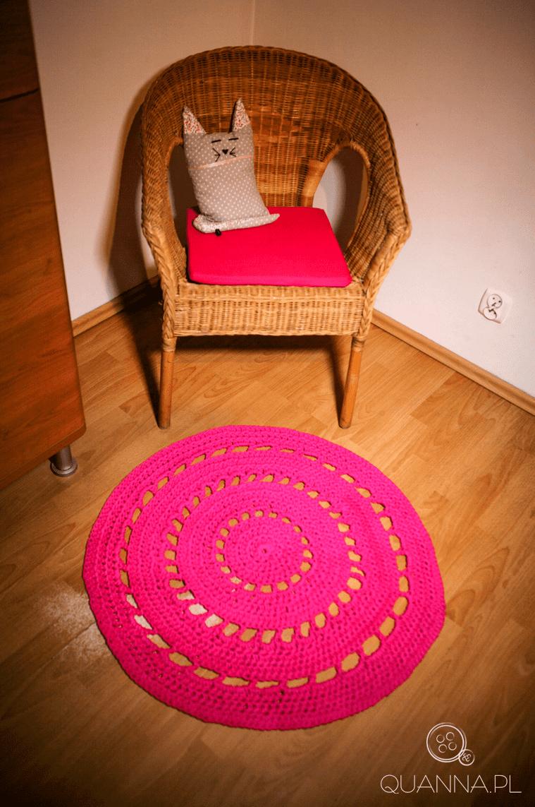 Dywan ze sznurka - całość