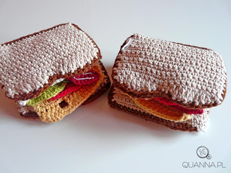 złożone kanapki